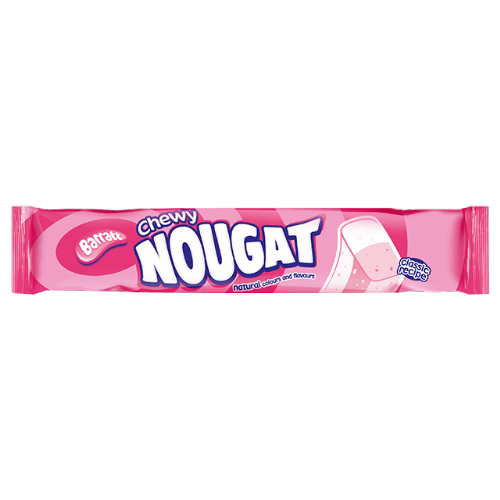 Barratt Chewy Nougat 70g Bar (UK)